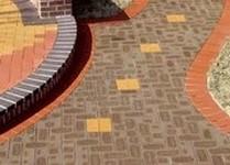 Тротуарный кирпич
