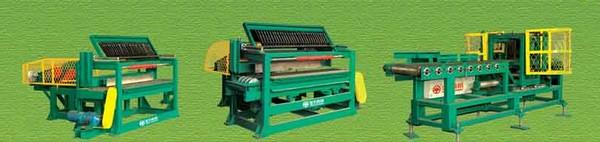 система для разрезания шламовой полосы и вырубки заготовок кирпича